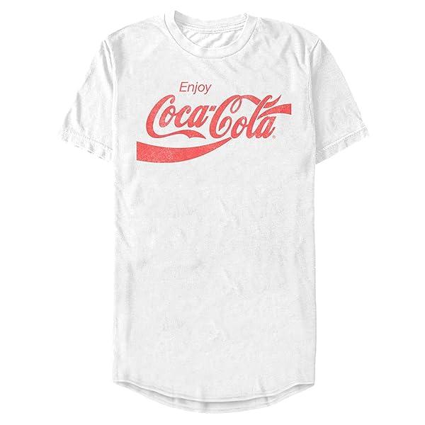 Coca Cola Enjoy Logo Long T-shirt