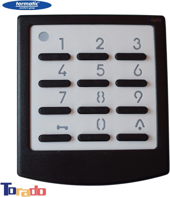 Tormatic Novoferm Funk-Codetaster Digicode 433 Codetaster Signal 218 Zahlencode Codeschloss Zahlenschloss 433 MHz f/ür Garagentorantriebe Taster Drucktster