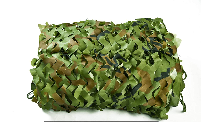 Vert 3mx4m Filet D'ombrage Vert Camouflage De Plein Air Ombre Montagne verting Sécurité Intérieur Décoration Balcon Plusieurs Tailles (4mx5m,Vert)