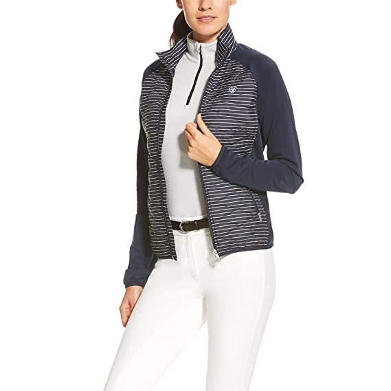 d3436b5423 ARIAT CLOUD 9 JACKET NAVY STRP XS  Amazon.co.uk  Clothing