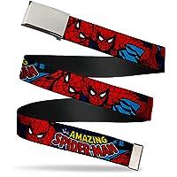 """Buckle-Down Web Belt Spider-Man 1.25"""""""