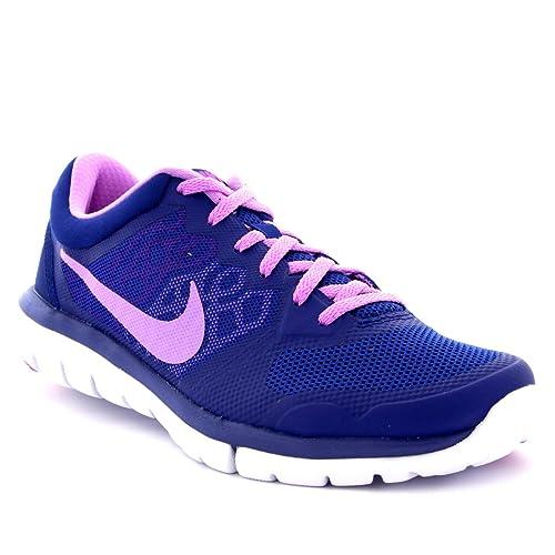 07fe5b51cce6 Nike Womens Flex 2015 Low Top Sports Running Walking Lightweight Trainers -  Purple - 5  Amazon.co.uk  Shoes   Bags