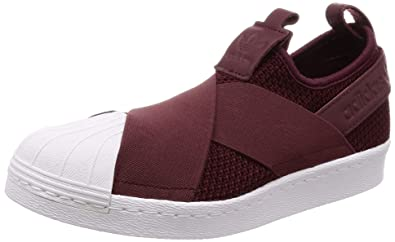 new product 297a7 bcf35 adidas Damen Superstar Slip On W Fitnessschuhe, Rot RojnocFtwbla 0, 36 EU