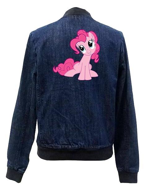 Pinkie Pony Bomber Chaqueta Girls Jeans Certified Freak: Amazon.es: Ropa y accesorios