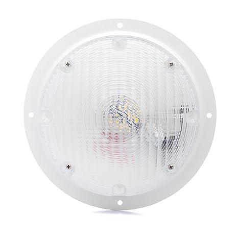 Lumitronics RV LED Surface Mount Scare Light with Mounting Gasket White