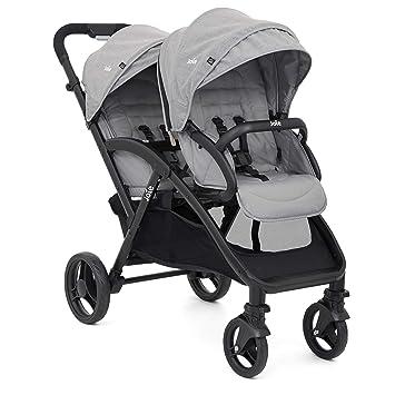 Joie Evalite Duo S1424ABGFL000 - Carrito hermano con capota para la lluvia, color gris: Amazon.es: Bebé