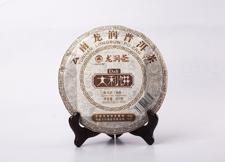 Yunnan Pu-erh Tea Cake - (Year 2010,Fermented, 357g)