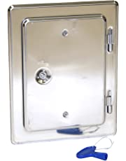 Kamino-Flam Porte de cheminée four Porte en acier de qualité–protection de cheminée de porte
