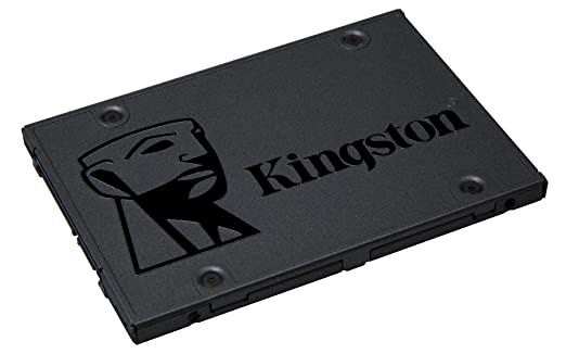 Kingston SSDNow A400 480GB SATA 3 Solid State Drive (SA400S37/480G) Internal Solid State Drives at amazon