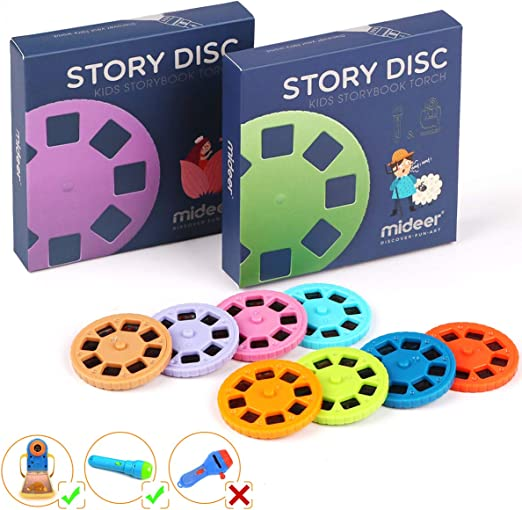 PROACC Story Disc 8 Fairy Tales Movies 64 Diapositivas para Story ...