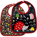 Sugarbooger Mini Bib Gift Set, Hedgehog, 2 Count