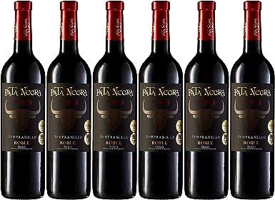 Pata Negra Vino Tinto D.O. Toro - Pack de 6 Botellas x 750 ml: Amazon.es: Alimentación y bebidas