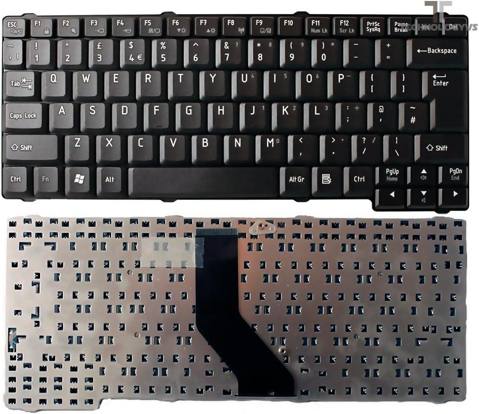 Para TOSHIBA SATELLITE L20-102 L20-112 mate teclado negro ...