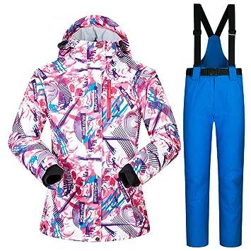 ZXGJHXF Trajes de esquí para Mujer Ropa de Invierno para la ...