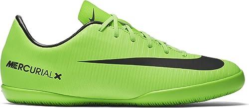 Nike Jr Mercurialx Victory Vi IC, Zapatillas de fútbol Sala Unisex para Niños, Verde (Electric Green/Blk-Flsh LM-Wht), 38 EU: Amazon.es: Zapatos y ...