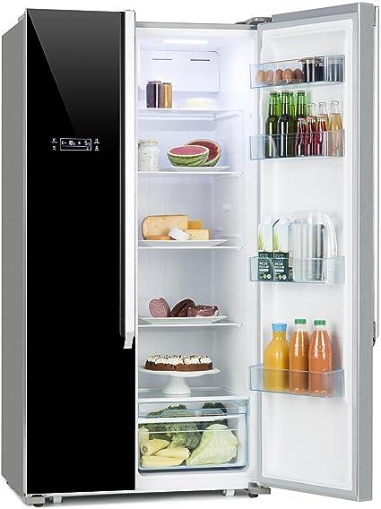 Klarstein Grand Host XL - Nevera con congelador, Nevera de dos ...