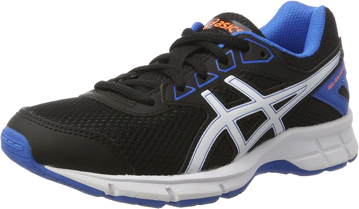 Asics Gel-Galaxy 9 GS, Zapatillas de Deporte Infantil, Negro (Black/White/Electric Blue), 34.5 EU: Amazon.es: Zapatos y complementos