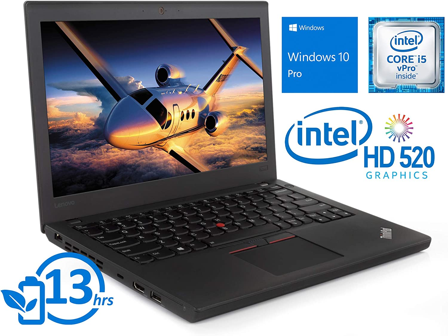Amazon.com: Lenovo ThinkPad X270 Laptop, 12.5