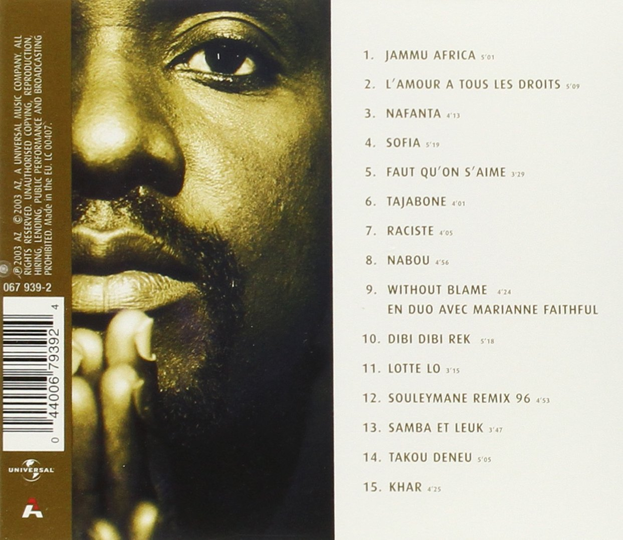 GRATUIT TÉLÉCHARGER ISMAEL AFRICA MP3 LO JAMMU