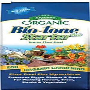 Espoma BTSP8 Organic 4-3-3 BioTone Starter Plus Fertilizer, 8 lb