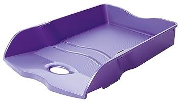 HAN Loop De plástico, Poliestireno Púrpura - Bandeja de escritorio (De plástico, Poliestireno