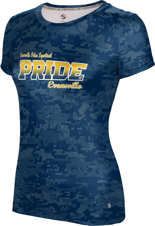 ProSphere Women's Evansville Police Department Gov-Fire-Police Digital Tech Tee