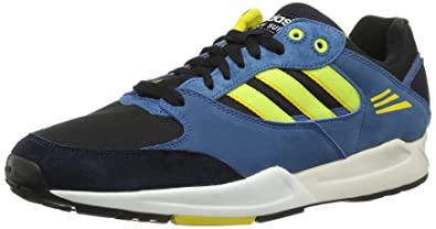 cc93582d6568e adidas Originals Mens Tech Super-1 Trainers D67642 Black Electricity Legend  Ink 8.5
