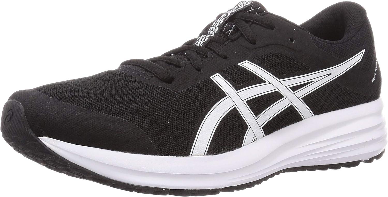 Asics Patriot 12, Zapatos para Correr para Mujer, Blanco Negro, 42.5 EU: Amazon.es: Zapatos y complementos