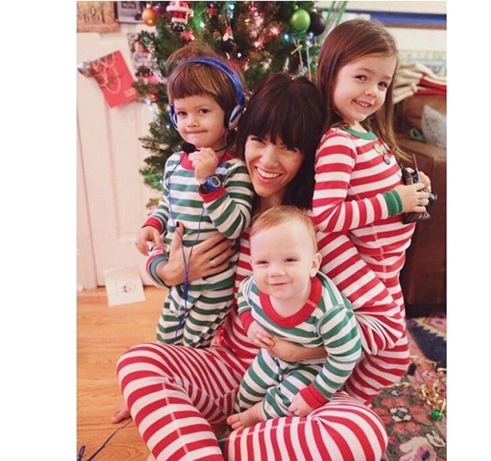 Navidad Fiesta En Familia Traje De Pijama Mamá y Papá Bebé Bebé Ropa De Pijamas: Amazon.es: Ropa y accesorios