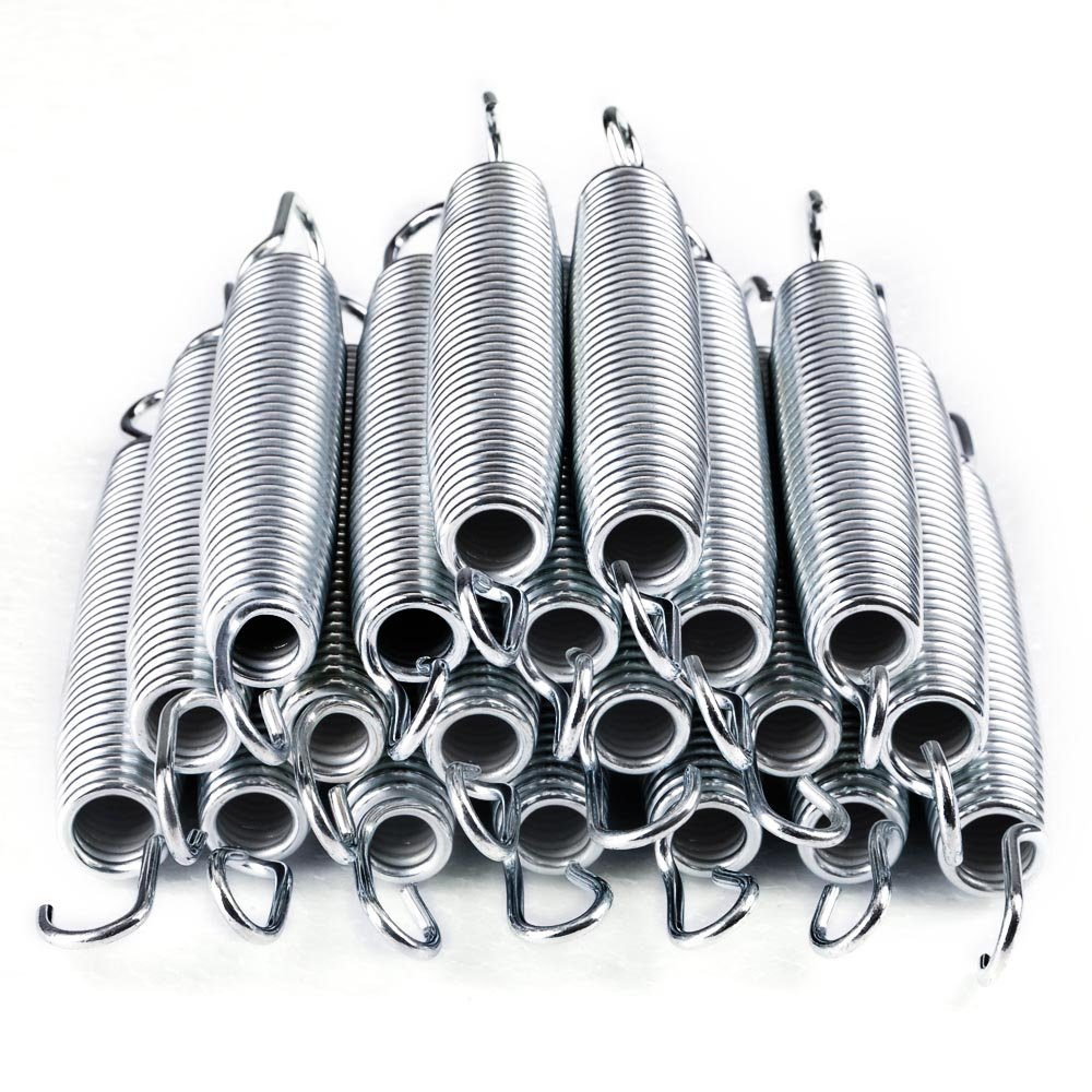 AW 20pcs 7'' Inch Galvanized Steel Trampoline Springs Galvanized Replacement Set