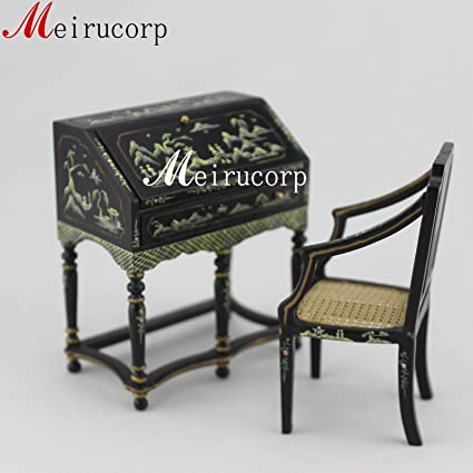 Amazon com: Vintage 1/12 Scale Dollhouse Miniature Furniture