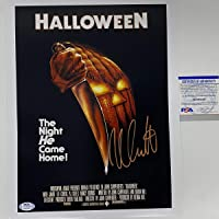 $74 » Autographed/Signed Nick Castle Michael Myers Halloween 11x14 Movie Poster Photo PSA/DNA COA