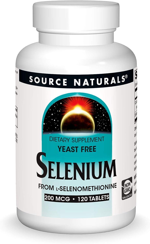 Source Naturals Selenium, 200mcg, 120 Tablets