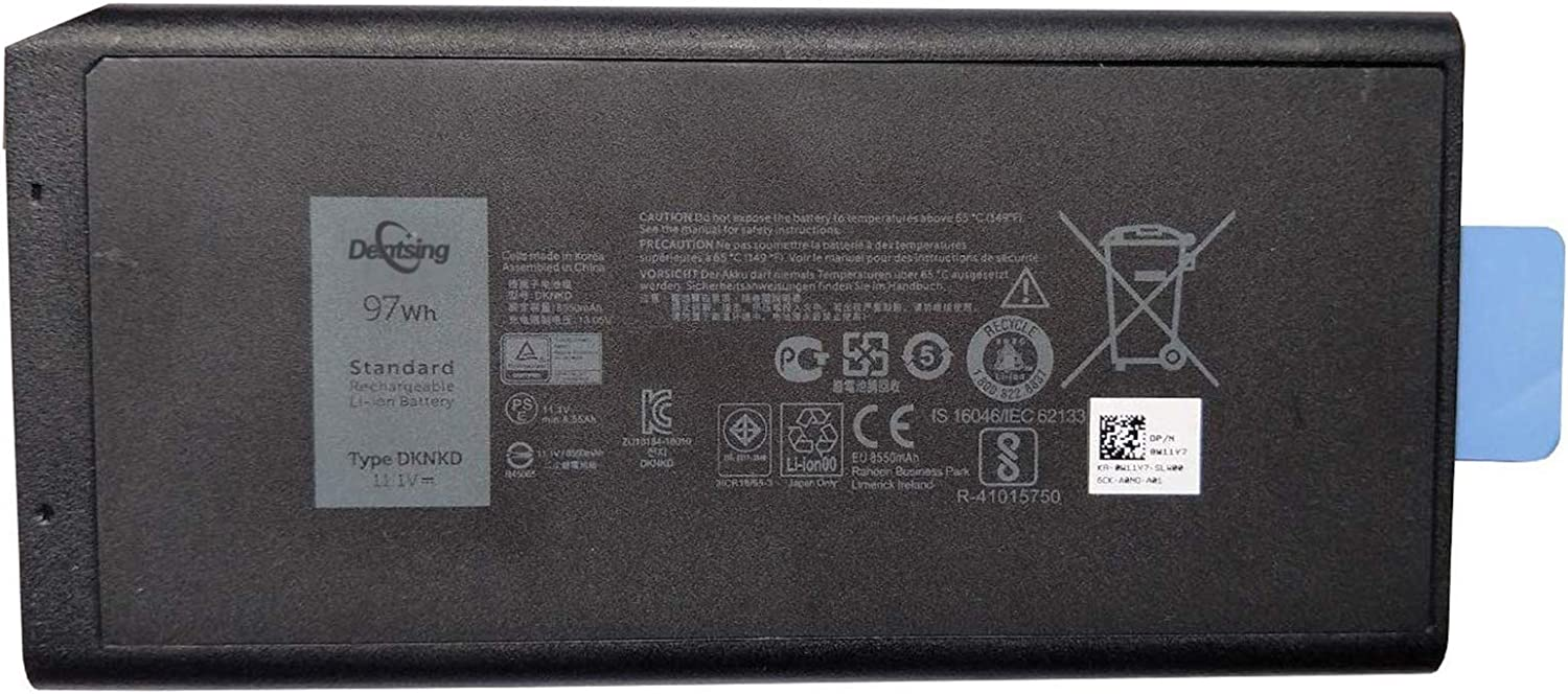 Dentsing DKNKD (11.1V 97Wh/8550mAh) Laptop Battery Compatible with Latitude 14 Rugged 5404 7404 E5404 E7404 Series Notebook X8VWF 4XKN5 CJ2K1 5XT3V 05XT3V VCWGN 0VCHGN 09FN4 XN4KN XRJDF YGV51