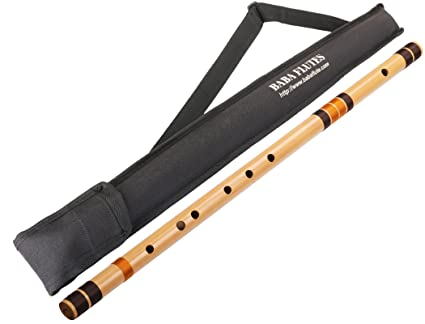 Baba Flute E Natural Base bansuri size 30 Inches with
