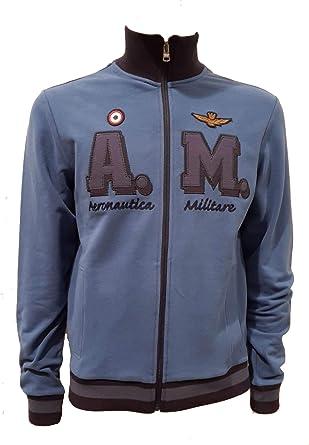 Aeronáutica Militar Sudadera FE1402 azul hombre, polo, pantalón ...