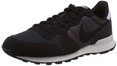 huge selection of 99fb3 e7e63 Nike Women s WMNS Internationalist Running Shoes, Black Thunder Grey Half  Blue 029,