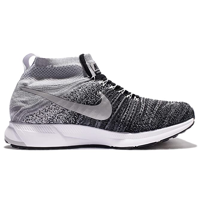 sports shoes 0274d 2f267 Amazon.com   Nike Zoom Pegasus All Out Flyknit GS Running Trainers 844979 Sneakers  Shoes (6.5 M US BIG KID, black white wolf grey 003)   Fashion Sneakers