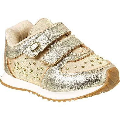 a840b594599 Tênis Bebê Feminino Klin Mini Walk Strass  Amazon.com.br  Amazon Moda