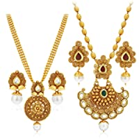 Sukkhi Jewellery Set for Women (Golden)(388CB1400)
