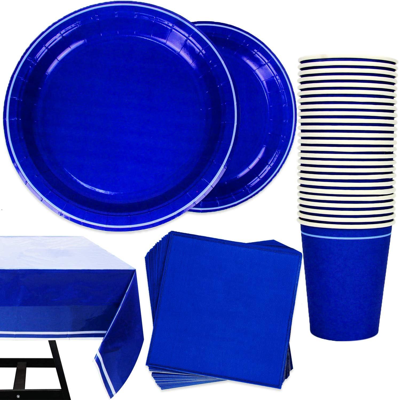 Vajilla Globos Bolsas /& Auténtico Azul Marino Artículos para fiestas