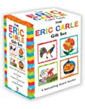 The Eric Carle Gift Set: The Tiny Seed; Pancakes, Pancakes!; A House for Hermit Crab; Rooster's Off to See the World (The World of Eric Carle)