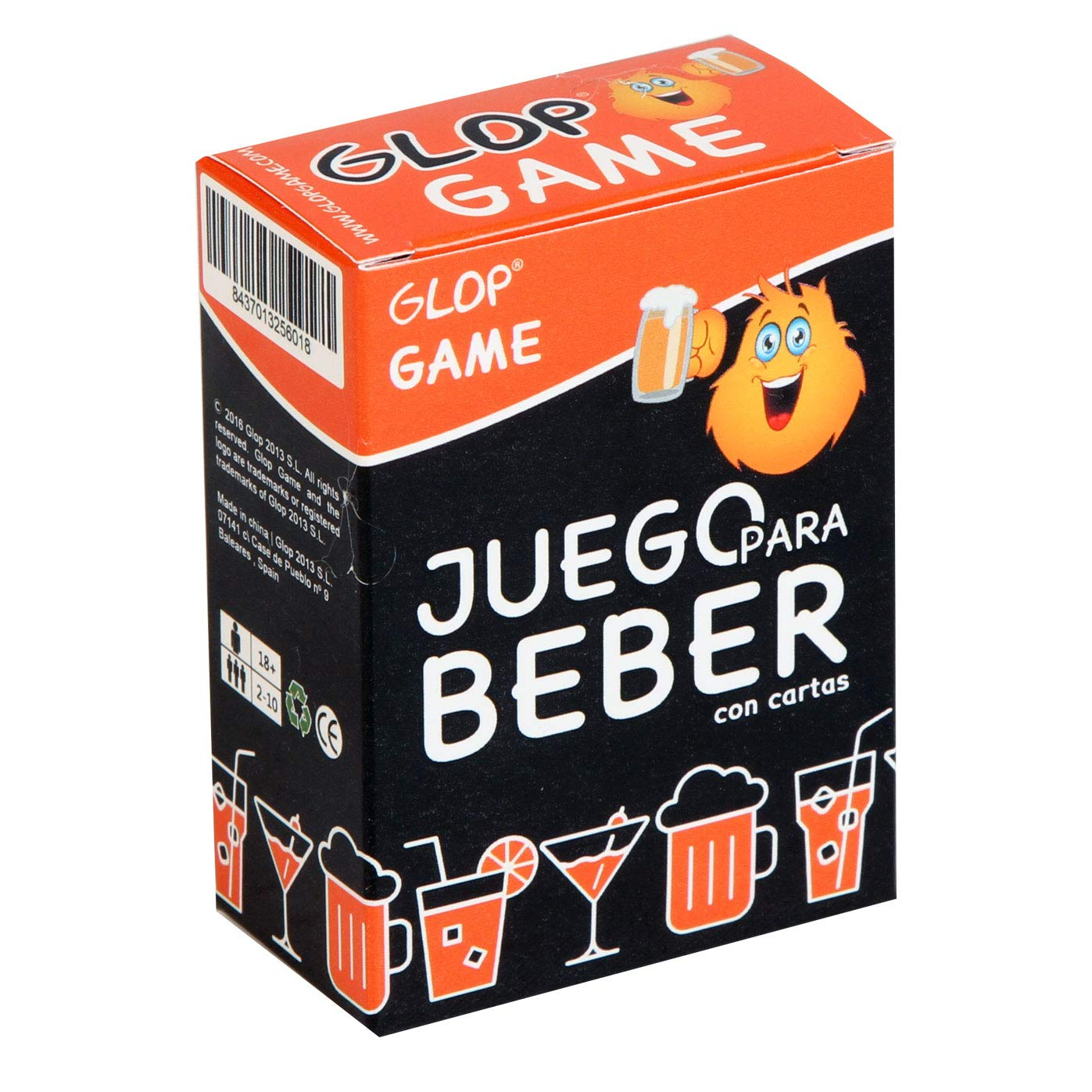 Glop 300 Cartas - Juegos para Beber - Juego de Beber para ...