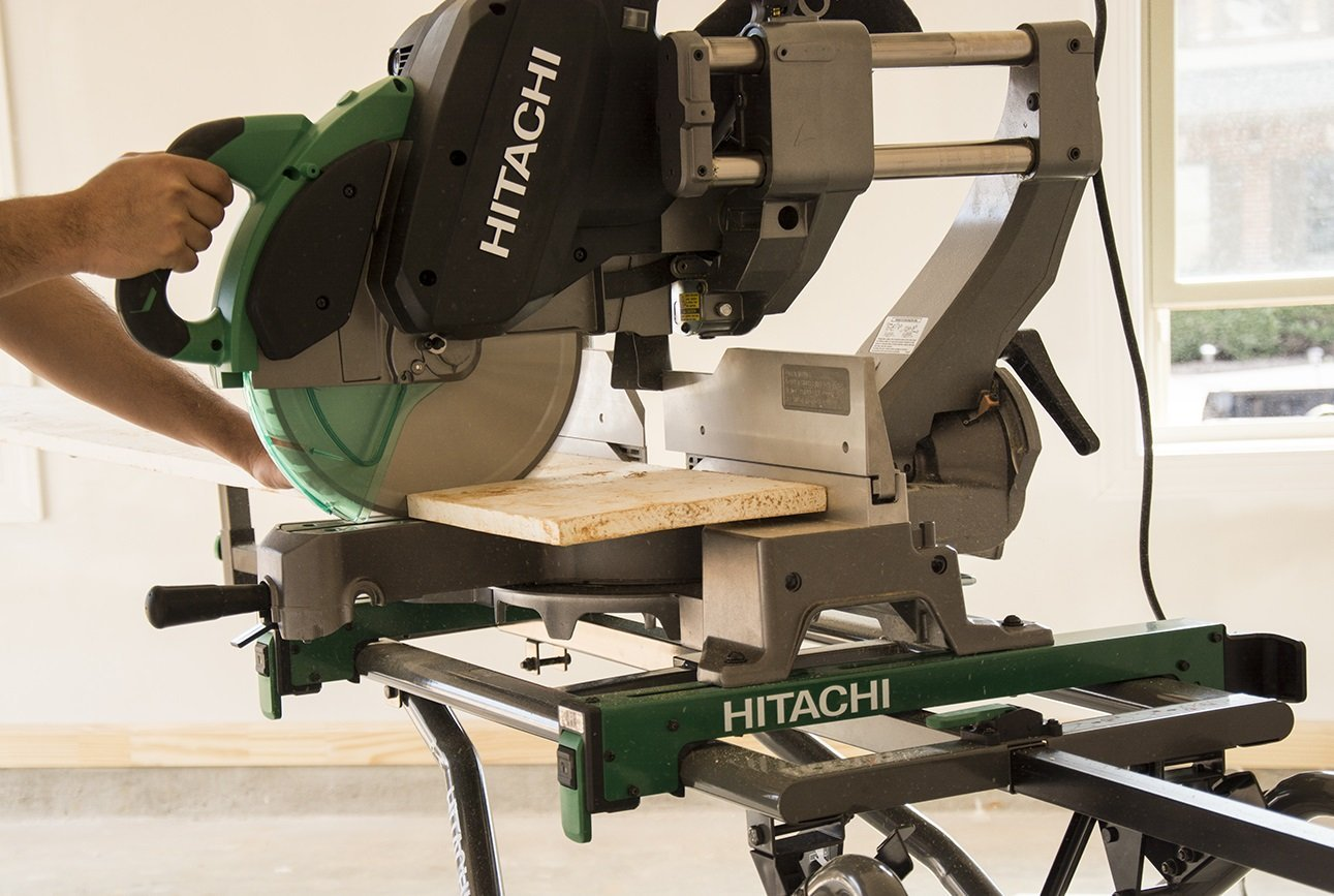 Image result for Hitachi C12RSH Sliding Compound Miter Saw