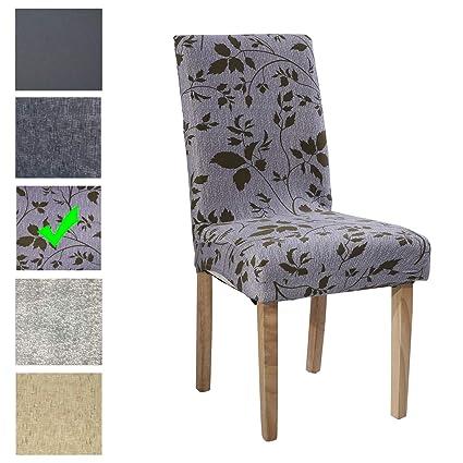 Easy-Room Fundas para sillas de Comedor de fácil habitación, Fundas ...