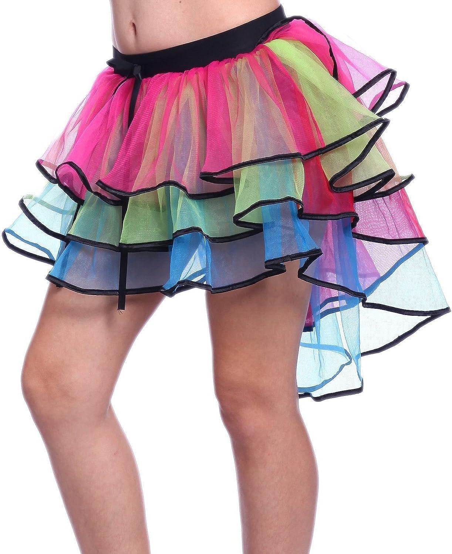 Landov - Falda de tul con arco de cielo para mujer, vestido ...