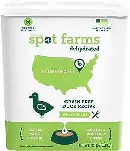 Spot Farms Human Grade Dog Food, Natural Dehydrated Dog Food