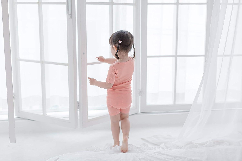 AVAUMA Newborn Baby Little Boys Girls Snug-Fit Pajamas Summer Winter Short//Long Sleeve Sets Pjs Kids Clothes