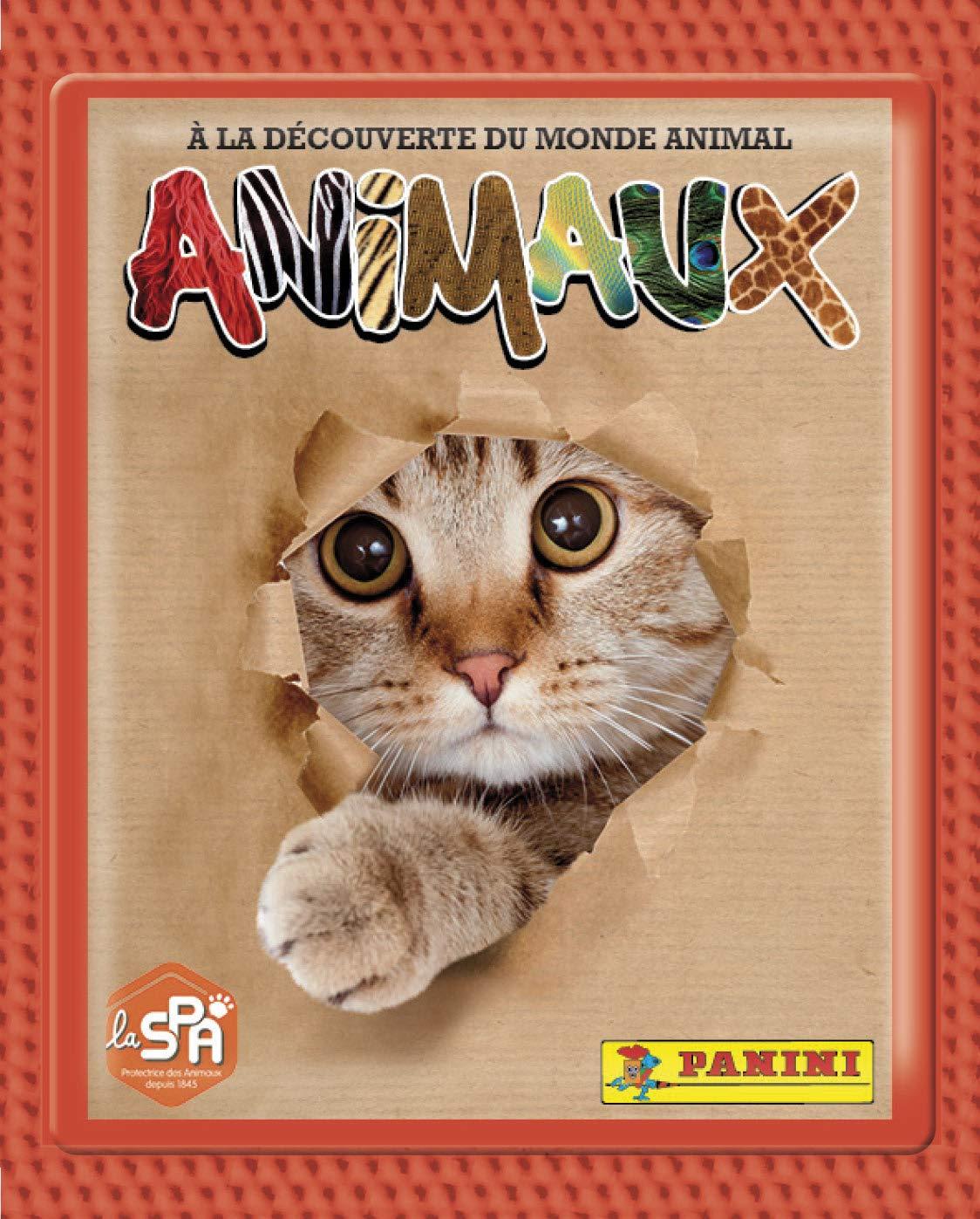 Animaux 2019 Blister 9 Pochettes 2519-038 Panini France SA SA