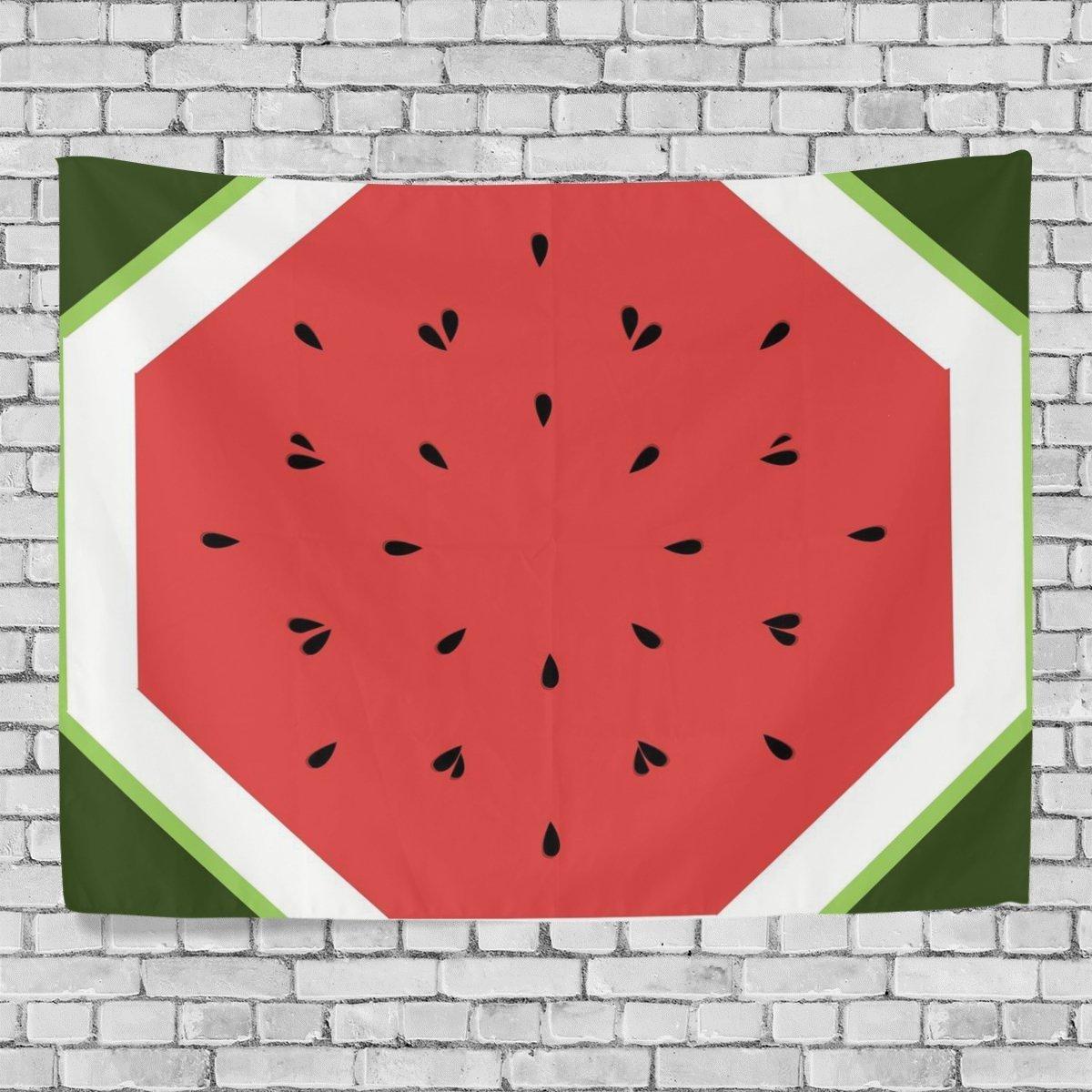 カスタムタペストリースイカタペストリー壁装飾リビングルーム、スローベッドスプレッド寮、タペストリー60 x 40インチ B01ND3Z56S